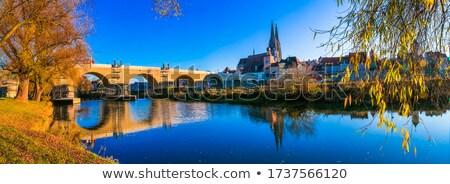 bridge over the danube stock photo © czbalazs