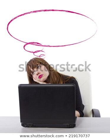 Daydreaming young businesswoman Stock photo © photography33