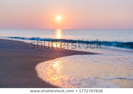 Krystalicznie niebieski morza wody plaży zakynthos Zdjęcia stock © sirylok