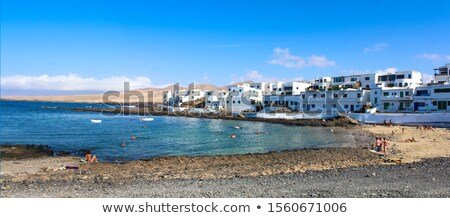 Lanzarote Teguise white village in Canary Islands Stock photo © lunamarina