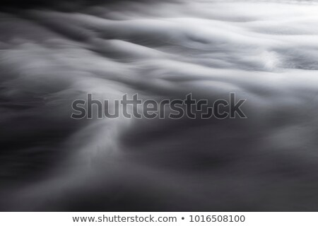 magic fume shapes over white stock photo © arsgera