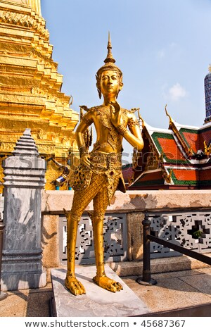 a kinaree, a mythology figure, in the Grand Palace  Stock photo © meinzahn