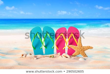Dos sandalias moda Foto stock © zzve