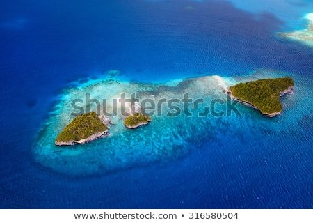 Pacific ocean island. Stock photo © iofoto