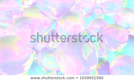 Abstract color glowing background with girl Stock photo © anastasiya_popov