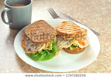 Hearty Breakfast Stock photo © zhekos
