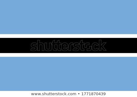 national colours of botswana stock photo © perysty