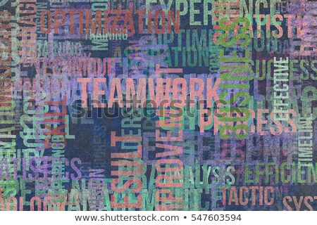 Innovation Background - Grunge Wordcloud Concept. Stock photo © tashatuvango