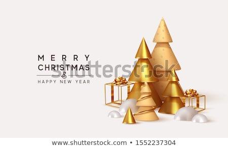natal · dourado · estrela · arame · brilho · abstrato - foto stock © rob_stark