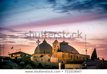 church of the Holy Sepulchre  Stock photo © OleksandrO