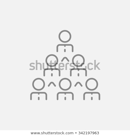submissive businessman at work Stock photo © ambro