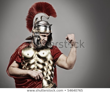 Stock photo: Legionary Soldier Ready For A War