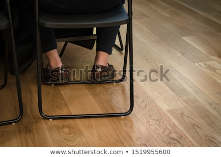 Sockless legs in pants and loafers Stock photo © maxsol7