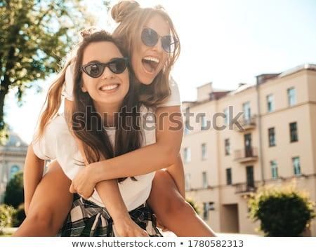 foto · sensual · mulher · loira · posando · verão · dia - foto stock © oleanderstudio