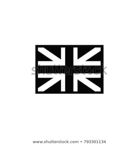 UK Flag and Silhouette Stock photo © Bigalbaloo