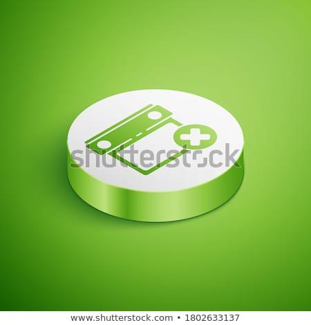 Calender Sign Green Vector Icon Button Stock photo © rizwanali3d