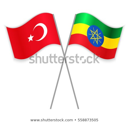 turkey and ethiopia flags stock photo © istanbul2009