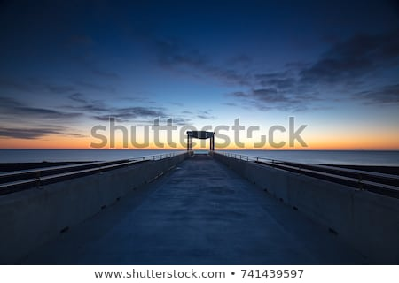 Napier Viewing Platform Sunrise Stock photo © rghenry