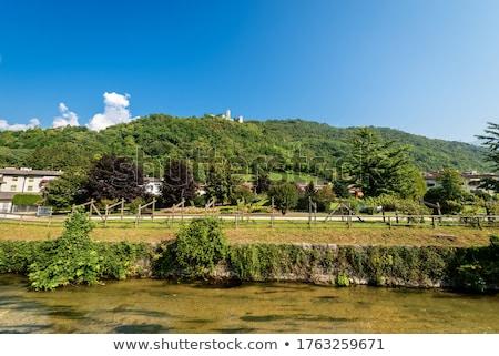 Borgo Valsugana Castel Telvana Stock photo © LianeM