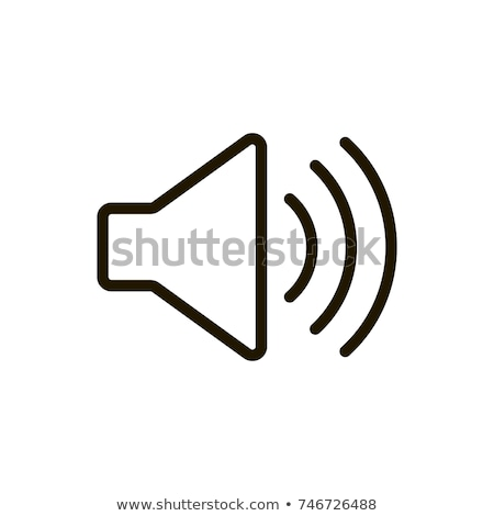 Silenziare speaker line icona web mobile Foto d'archivio © RAStudio