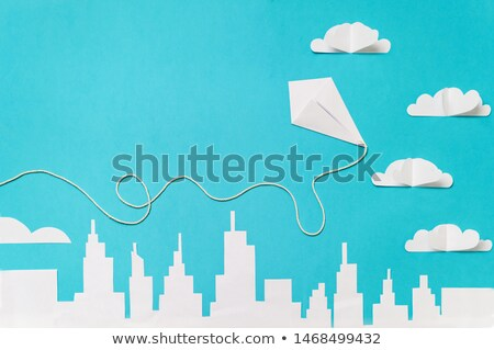 A flying craft Stock photo © bluering