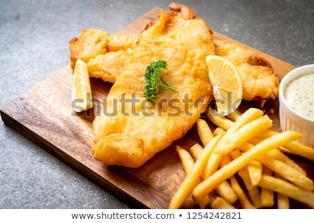filete · París · mantequilla · servido · hortalizas - foto stock © digifoodstock