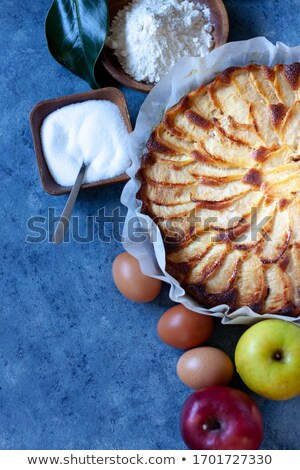 hámozott · alma · asztal · bioélelmiszer · fa · természet - stock fotó © nito