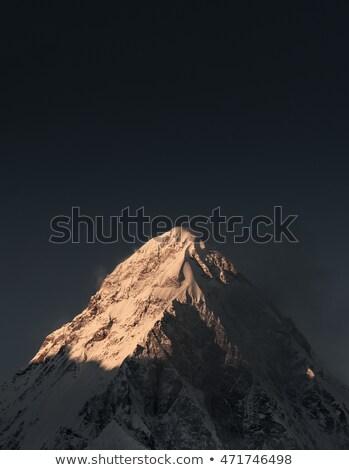 All'alba tramonto climbing Nepal Foto d'archivio © Arsgera