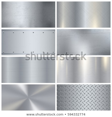 Metal texture splendente figura texture recinzione ferro Foto d'archivio © ssuaphoto
