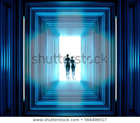Fantastic tunnel and strangers Stock photo © ssuaphoto
