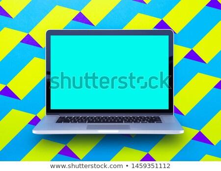 Target Audience on Laptop in Modern Workplace Background. Stock photo © tashatuvango