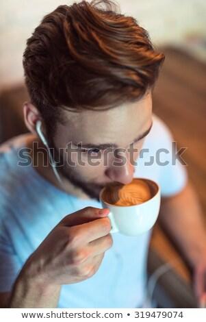uomo · d'affari · pausa · caffè · alimentare · imprenditore · urbana - foto d'archivio © is2