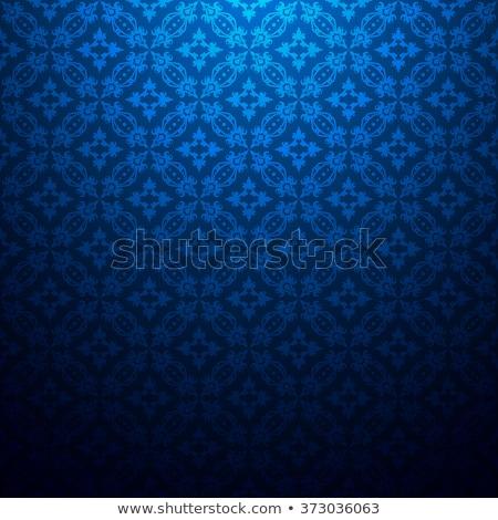 Lüks karanlık siyah model mavi Stok fotoğraf © FoxysGraphic