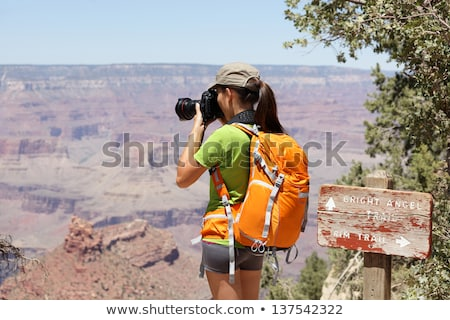 Photographer Shooting at the Grand Canyon stock photo © feverpitch