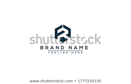 letter f and r logo fr icon vector Stock photo © blaskorizov