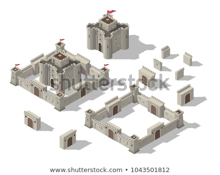 medieval stone tower Stock photo © FOKA