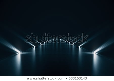 futuristic technology lines background with light effect stock photo © sarts