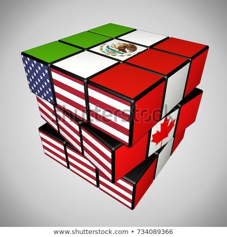 Foto d'archivio: Settentrionale · america · commercio · nuovo · Stati · Uniti · Messico