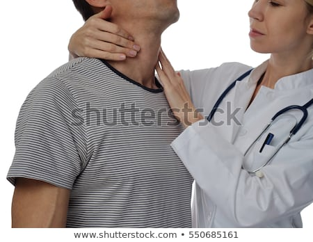 Man Getting Thyroid Gland Control Stock photo © AndreyPopov