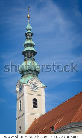 Church of the Holy Spirit,  Klagenfurt, Austria Stock photo © borisb17