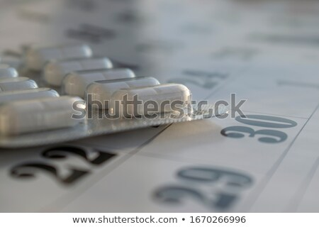 pills in a plate as a medicine close up Stock photo © mizar_21984