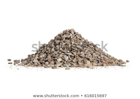 Steen weg grind textuur kalksteen Stockfoto © Illia
