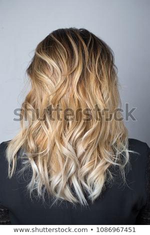 вьющиеся волосы красоту моде портрет Сток-фото © Victoria_Andreas
