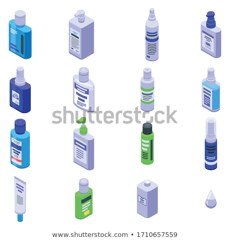 Hand Healthy Hygiene Isometric Icons Set Vector Stock photo © pikepicture