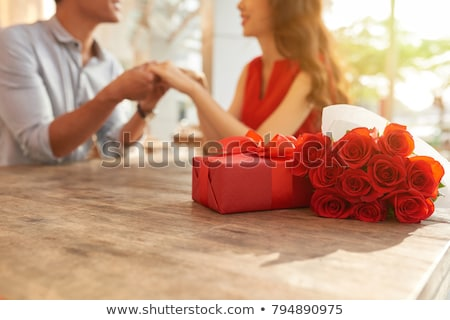 couple at table Stock photo © photography33