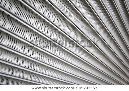 metalen · huis · muur · achtergrond · winkel - stockfoto © latent