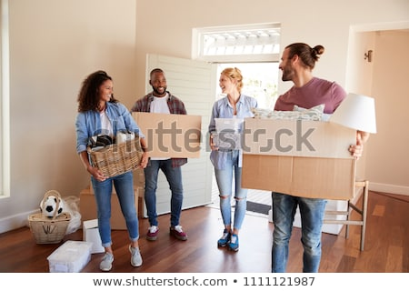 Friends moving house Stock photo © photography33