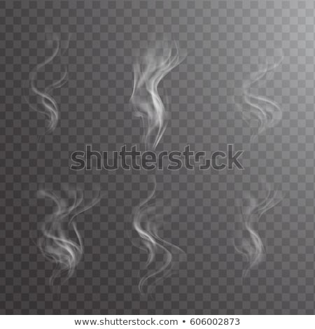 Abstract fume line over the white Stock photo © Arsgera