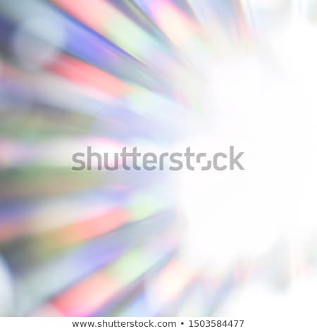 Szivárvány színes fények becsillanás absztrakt sugarak Stock fotó © marinini