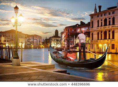 Venezia notte tempo cielo acqua casa Foto d'archivio © AndreyKr